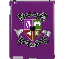 Sanderson Academy iPad Case/Skin