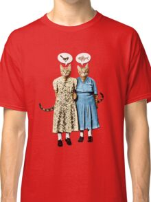 Two Cool Kitties: What's for Lunch? Classic T-Shirt