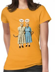 Two Cool Kitties: What's for Lunch? Womens Fitted T-Shirt