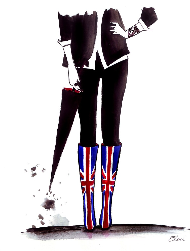 Brit Chick by Eleni Fall into London