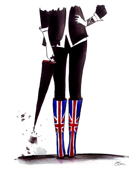 Brit Chick by FallintoLondon