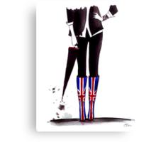 Brit Chick Canvas Print