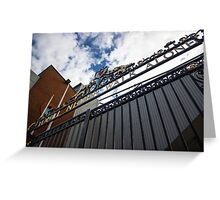 Shankly Gates - Liverpool FC - Anfield Greeting Card