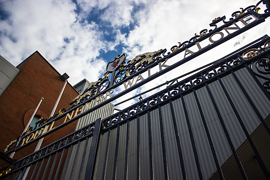 Shankly Gates - Liverpool FC - Anfield by Paul Madden
