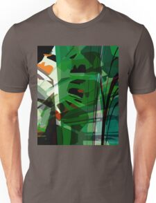 Greeny leafy graphic design Unisex T-Shirt
