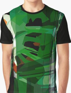 Greeny leafy graphic design Graphic T-Shirt