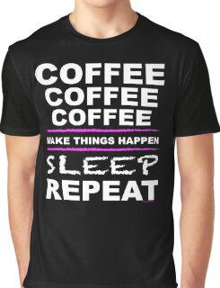 COFFEE x3 Graphic T-Shirt