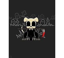 Grim Reapets - A Dog Named Decay - Blood Variant - Grim Pets Photographic Print