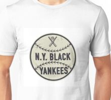 NY Black Yankees Negro Leagues Unisex T-Shirt