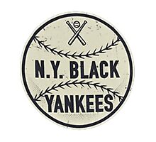 NY Black Yankees Negro Leagues Photographic Print