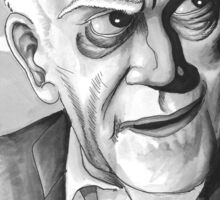 Boris Karloff, Classic Gentleman Sticker