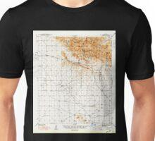 USGS TOPO Map Arizona AZ Dos Cabezas 314545 1943 62500 Unisex T-Shirt