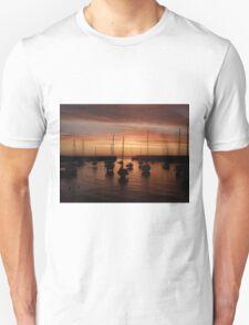 Bray Harbour first light Unisex T-Shirt