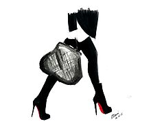 I Love Louboutin Photographic Print