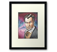 Vincent Price, The Master of Horror Framed Print