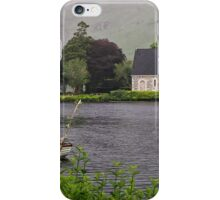 Chapel In The Mist - Gougane Barra - County Cork - Ireland iPhone Case/Skin