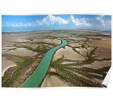 Remote Cape York river Poster
