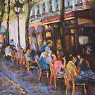 L'Ecritoire Cafe, Paris by Terri Maddock