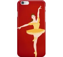 Belle ballerina iPhone Case/Skin