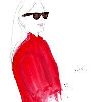 What ELLE Wears - The Red Coat by FallintoLondon