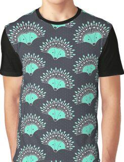 Hedgehog Fan Graphic T-Shirt