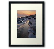 Southerndown Sunset Framed Print
