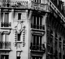 Paris apartments Sticker