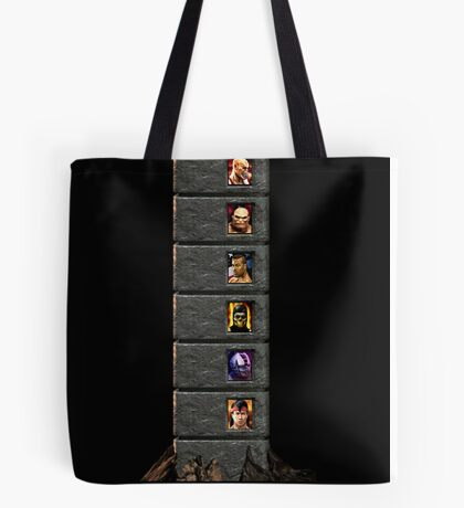 Mortal Kombat Trilogy Tower  Tote Bag