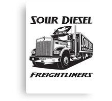 Sour Diesel Freightliners Canvas Print