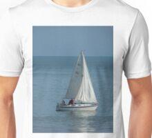 Yacht reflection Unisex T-Shirt