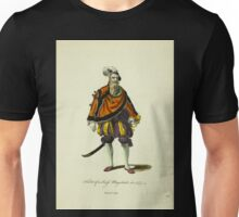 Habit of a Swiss Magistrate in 1577 Magistrat Suisse 260 Unisex T-Shirt