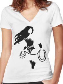 Amazon Goddess Women's Fitted V-Neck T-Shirt