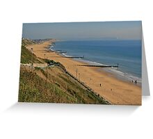 Beach at Southbourne Greeting Card