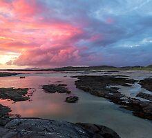 Sunset at Sanna Bay by derekbeattie