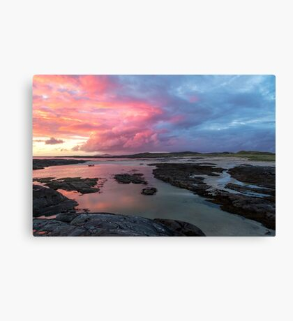 Sunset at Sanna Bay Canvas Print