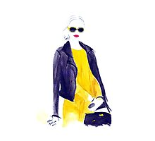 That Canary Dress Photographic Print