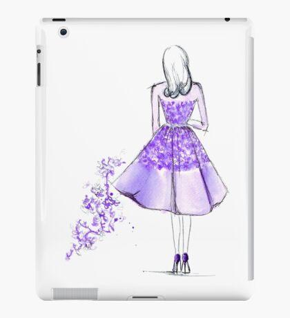 Retro in Elie Saab iPad Case/Skin