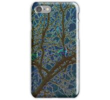 Jeweled Birds In Winter Tree iPhone Case/Skin