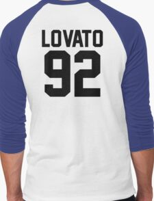 #DEMILOVATO Men's Baseball ¾ T-Shirt