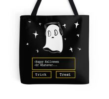 nabstablook says happy halloween!  Tote Bag