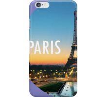 Paris is my home iPhone Case/Skin