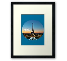 Paris is my home Framed Print