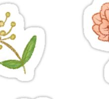 Pretty Flowers Sticker Set Sticker