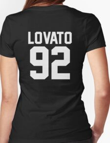 #DEMILOVATO Womens Fitted T-Shirt