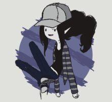 Marceline Hipster - Adventure time by glik