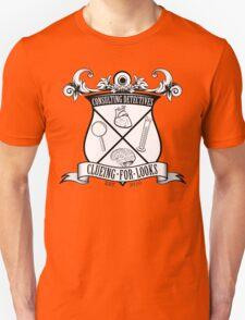 Sherlock's School of Clueing Unisex T-Shirt