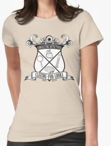 Sherlock's School of Clueing Womens Fitted T-Shirt