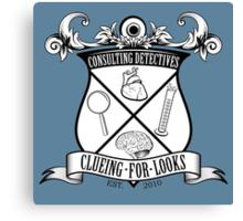 Sherlock's School of Clueing Canvas Print