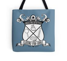 Sherlock's School of Clueing Tote Bag