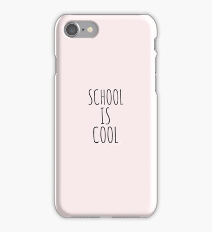 school is cool iPhone Case/Skin